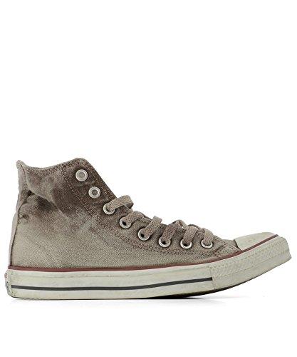 Converse Herren 156943CU100 Braun Stoff Hi Top Sneakers