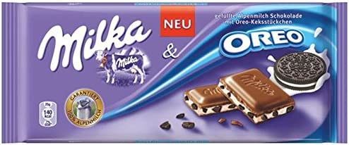 Milka And Oreo Bar 100g