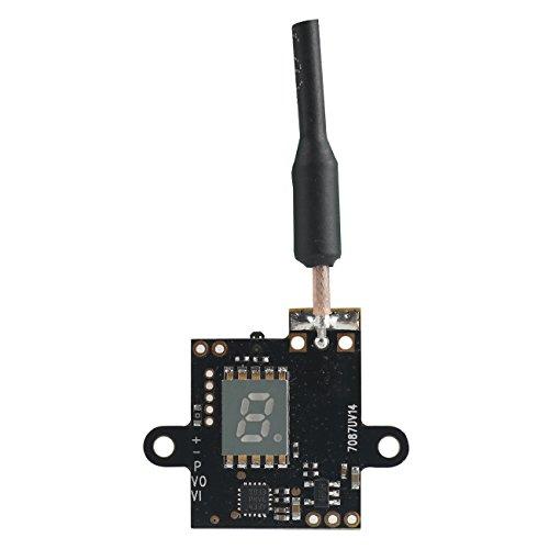 EWRF Mini FPV Video Transmitter VTX 5.8G 48CH Raceband 0/25/100/200mW Switchable FPV Transmit Module Support PWM/OSD Configuring by Crazepony