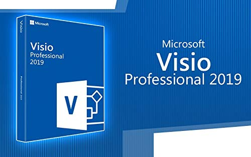 0e9355216 Microsoft Visio 2019 Professional for Window 10 only 1 User (Digital ...