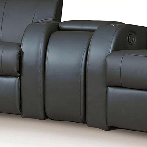 Coaster Home Furnishings Cyrus Home Theater Upholstered Console Wedge - Console Theater Home