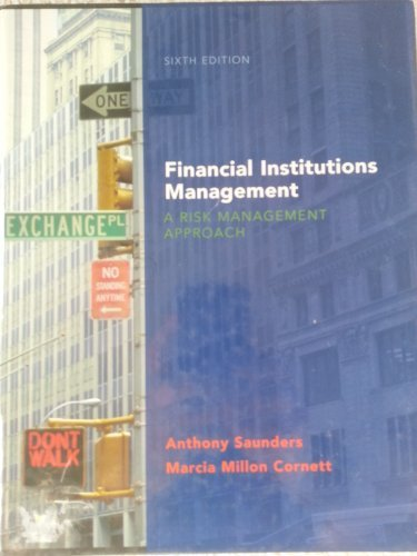 Financial Institutions Mgmt (McGraw-Hill/Irwin Series in Finance, Insurance, and Real Est) Pdf