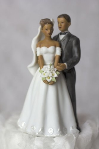 Amazon.com: Wedding Collectibles Elegant African American Couple ...