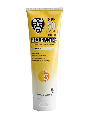 Watermans Face Stick - Headhunter Adult Lifestyle Sunscreen - Clear - SPF 50 - 8 oz