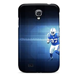 Slim Fit Tpu Protector Shock Absorbent Bumper Indianapolis Colts Case For Galaxy S4
