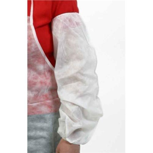 Safety Zone DSPP-18-200 Sleeve, 18'' Size, Polypropylene, White (Pack of 200)