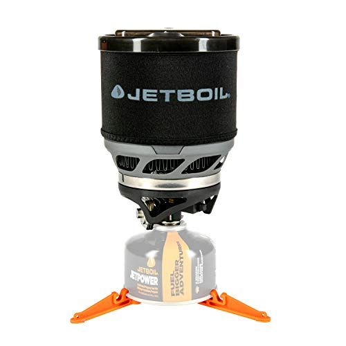 (Jetboil MiniMo Camping Stove Cooking System, Carbon)