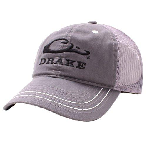 Drake Waterfowl Mesh Back Cap - Gray