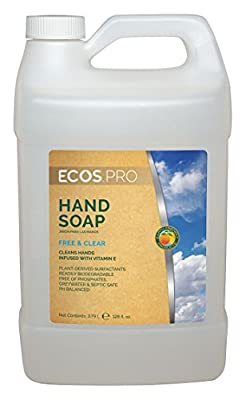 Liquid Hand Soap, Unscented, 1 gal.