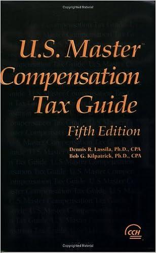 U.s. Master Compensation Tax Guide