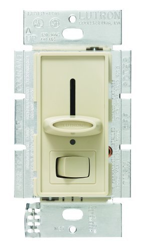 - Lutron S600PNLH-IV Electronics Skylark Dimmer with Night Light, Ivory