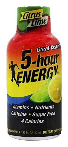 5 Hour Energy Lemon-lime, 1.93 Fl Ounce , 12 Count (Lemon Lime 5 Hour Energy)