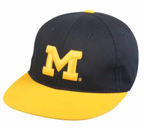 Michigan Wolverines YOUTH Cap Officially Licensed NCAA Authentic Replica Baseball/Football Hat