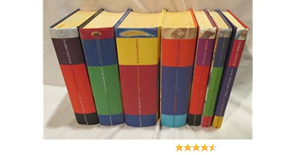 Complete Set of Harry Potter Deluxe Edition 7 Volume Set ...