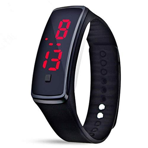 Reloj Digital Correa de Silicona Deportivo para Hombre y Mujer Unisex Cuarzo: Amazon.es: Relojes