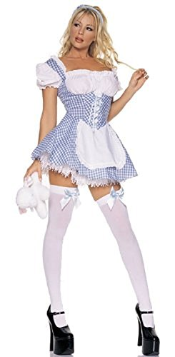 Sexy Lamb Costumes (Mary Costume - X-Small - Dress Size 0-2)