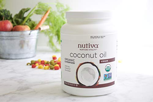 Nutiva Organic, Cold-Pressed, Unrefined, Virgin Coconut Oil from Fresh, non-GMO, Sustainably Farmed Coconuts, 54-ounce by Nutiva (Image #8)
