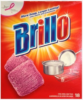 (Brillo Steel Wool Soap Pads, 18 Count)