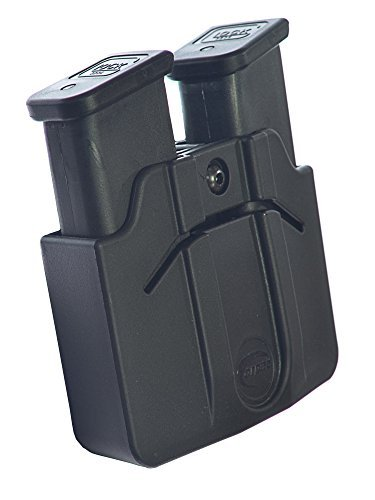 Best Buy! Orpaz Magazine Belt Holster Holds 2 Double Stack 9mm Polymer Mags Adjustable for Rotation/...