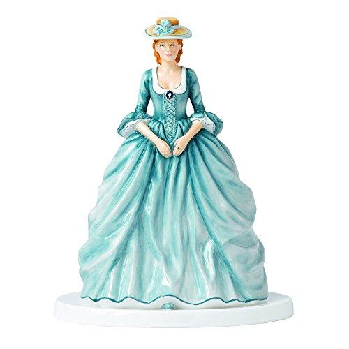(Royal Doulton Heroines Georgiana Figurine, 10