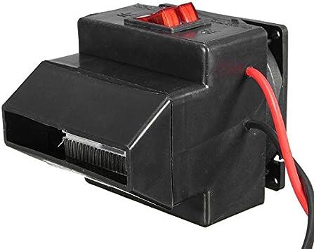 CaCaCook Riscaldatore per Auto Portatile 12V 150W 2 in 1 Riscaldatore per Auto Demister Sbrinatore Ventilatore Veicolo Riscaldamento Automatico Demiste per Auto SUV Camion RV Trailer
