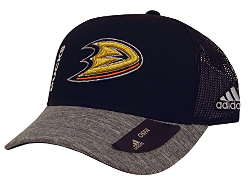 NHL Anaheim Ducks Start of Season Hat, One Size, Black