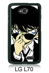 Lovely And Unique Designed Case For LG L70 With Detective Conan 13 Black Phone Case