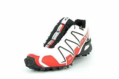 design intemporel 636df e41f8 Salomon speedcross 3 gtx blanc rouge femme chaussures ...