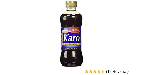 Amazon Com Karo Dark Corn Syrup 16 Fl Oz Butter Cookies
