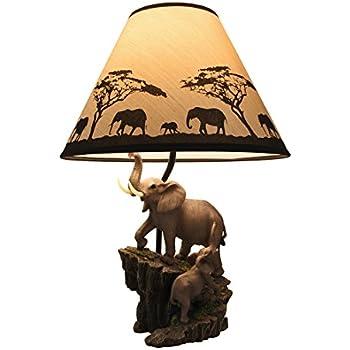 Ashley Furniture Signature Design - Elephant Theme Table Lamp With ...