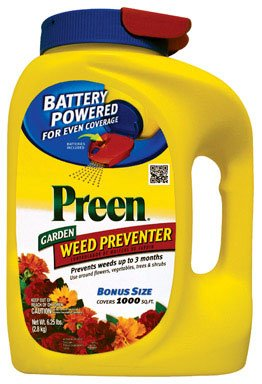 Preen Garden Weed Preventer With Power Spreader 1000 Sq. Ft. Granules 6.25 Lb.