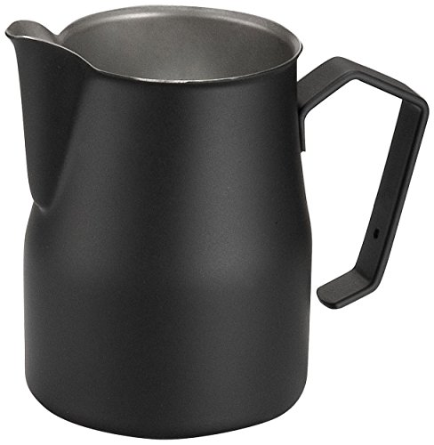 motta-stainless-steel-black-coated-frothing-pitcher-black-color-350ml