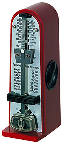 - Metronome Metronome Piccolino Synthetic casing;Without bell; Ruby red 890141