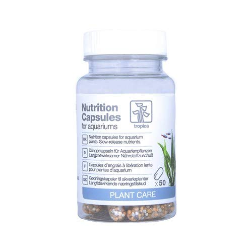 Tropica Nutrition Capsules 50 pcs. Slow Release Plant Fertiliser by Tropica