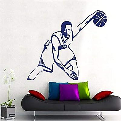 LUANQI Baloncesto Superstar Adhesivos de Pared Decoración para el ...