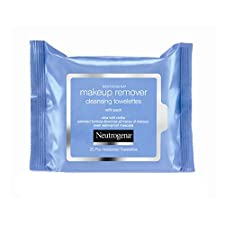 Neutrogena Makeup Removing Wipes, 25 Count, Twin Pack (50 Wipes Total)