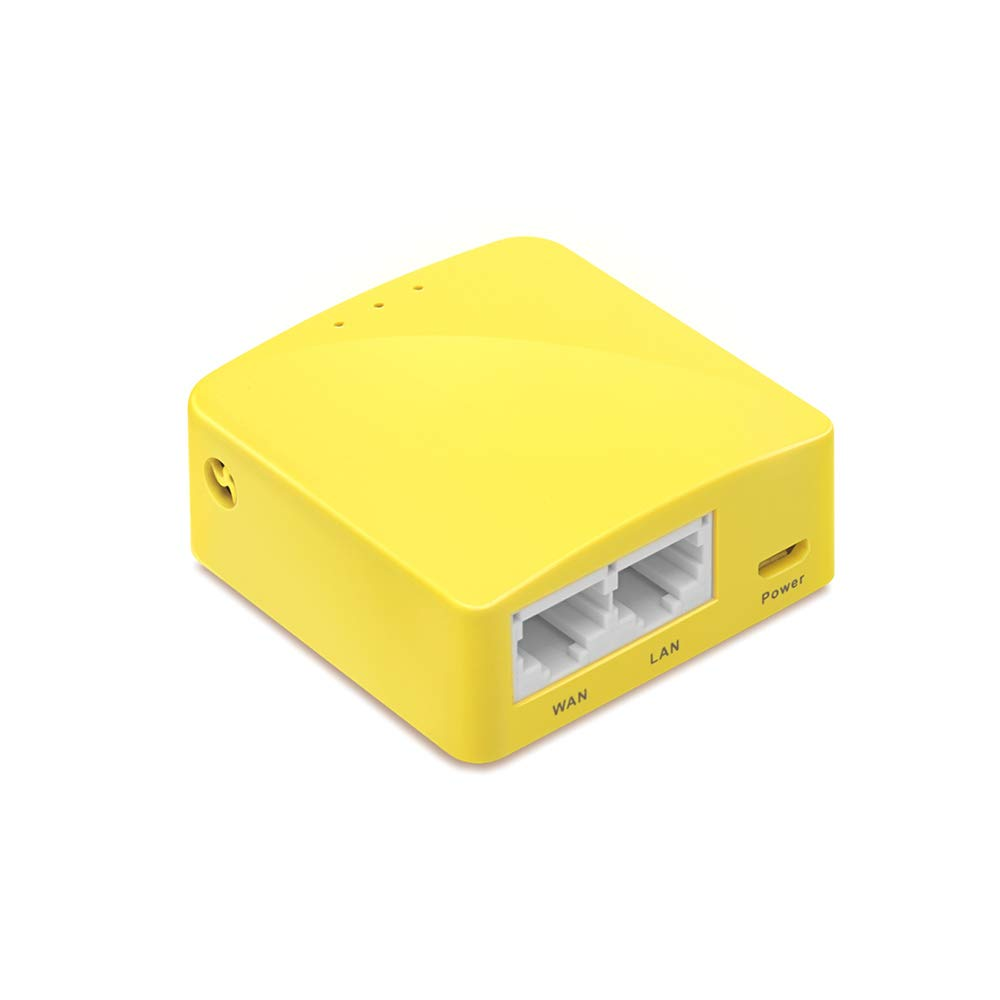 GL iNet GL-MT300N-V2 Mini Travel Router, Repeater Bridge, 300Mbps High  Performance, 128MB RAM, OpenVPN/Wireguard Client/Server