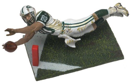 McFarlane Toys NFL Sports Picks Series 2 Action Figure Wayne Chrebet (New York Jets) White Jersey