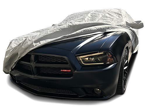 (CarsCover Custom Fit 2006-2019 Dodge Charger Car Cover 5 Layer Ultrashield Gray Covers (SE, SXT, R/T, Daytona, SRT, Hellcat) )