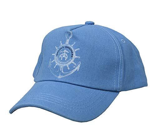 Brooks Brothers Men's Cotton Golden Fleece Anchor Adjustable Dad Hat Baseball Cap Light Blue (Large/X-Large) ()