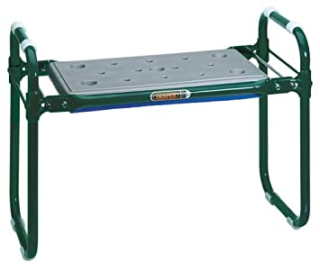 New Draper 27435 Garden Kneeler And Seat Sturdy Tubular Steel Frame With Fo Gift Home & Garden