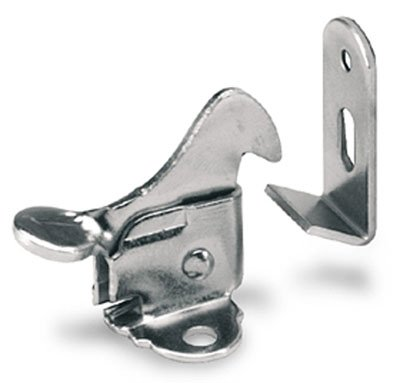 Amerock Elbow Catch in PERMA-BRITE in Zinc - Amerock Magnetic Touch Latch