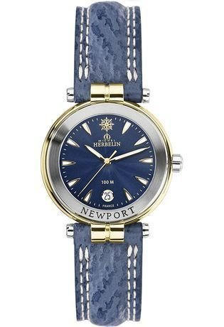 Lady's Watch - Michel Herbelin - Newport Yacht Club - Saphirglass - 14255/T35