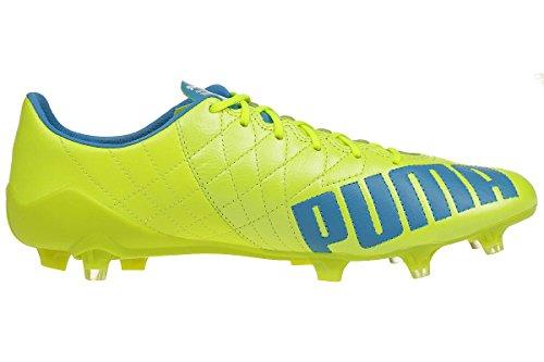 white Yellow Chaussures Safety Blue Puma 04 Sl De Fg atomic Lth Football Homme Evospeed fRHxq7Rw4