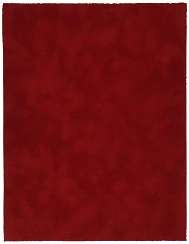 Sew Easy Industries 12-Sheet Velvet Paper, 8.5 by 11-Inch, Blaze ()