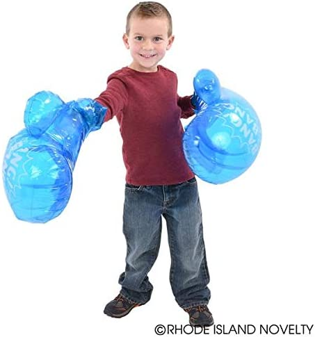 "21/"" Inflatable Boxing Gloves for Kids to Adult Toy"