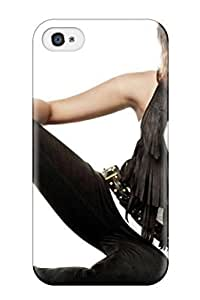 Fashion Tpu Case For Iphone 4/4s- Miley Cyrus New4 Defender Case Cover