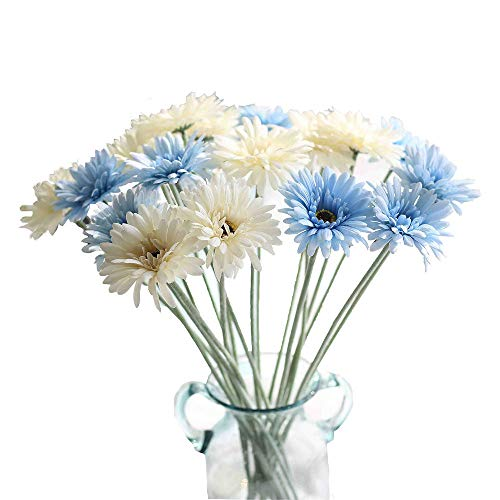 Kirifly Artificial Flowers,Fake Silk Sunflowers Bulk Flowers 22