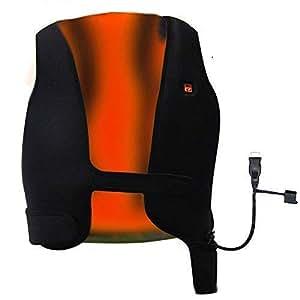 GENERAL ARMOR Chaleco Chaqueta calefactable USB electrico,Temperatura Tamaño Ajustable Calentador del Cuerpo Chaleco, Carga USB Esquí Golf Motocicleta ...