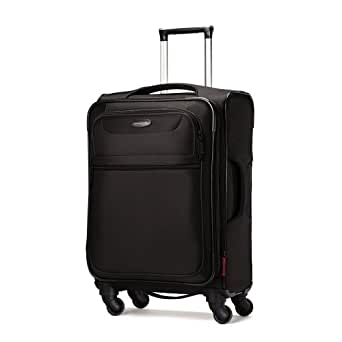 Samsonite Lift Spinner 21  Inch Expandable Wheeled Luggage, Black, One Size